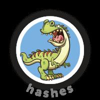 Bitsbox Level 12 teaches hashes.