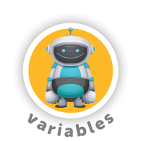 Bitsbox Level 2 teaches variables.